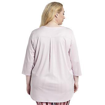 Rosch 1194530-11577 Femme Courbe Nouvelle Rose Rose Rose Coton Pyjama Haut