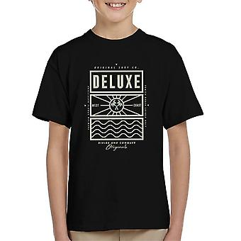 Verdeel & Conquer Deluxe Surf co Kid ' s T-shirt