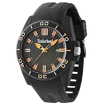 Timberland Dunbarton Quartz Analog Man Watch with Silicone Bracelet 14442JPB-19P