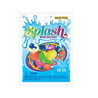 Party Supplies - Pioneer Water Balloons w/Filler Splash 50 ct Games 82377
