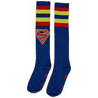 Supergirl Knee High Socks