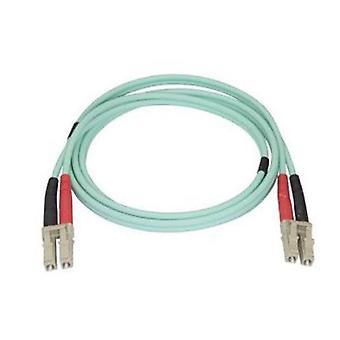 Begynte 1M Aqua mm 50 125 Om4 fiberoptisk kabel