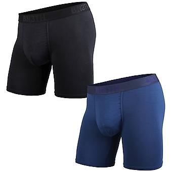 BN3TH 2-Pack Classic Branded Boxer Brief - Black/Navy