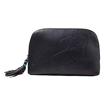 Aladdin Wash Bag Aladdin Jasmin silhouette new Official Disney Black