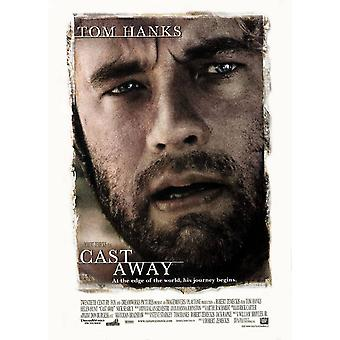 Cast Away Original Movie Poster -  Double Sided