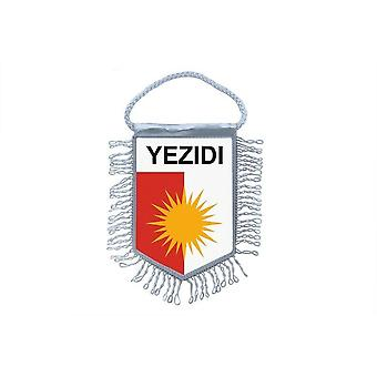 Flagga mini flagga land bil dekoration yazidi yezidi Yezidisme