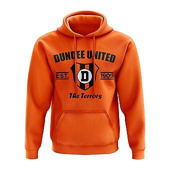 Dundee United etablerte Hoody (oransje)