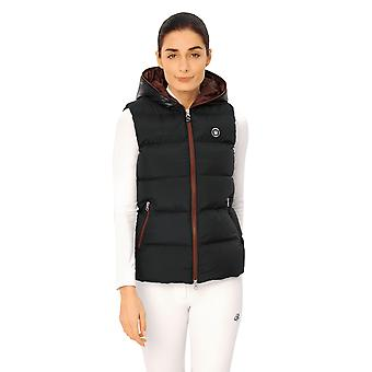 Spooks Carla Womens Vest - Navy/bordeaux