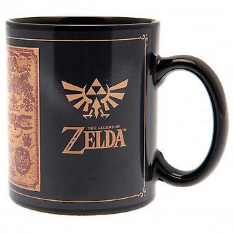 The Legend Of Zelda Heat Changing Mug