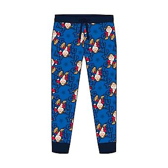 Men's Disney Grumpy Print Cuffed Lounge Pants