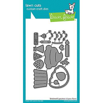 Lawn Fawn Stitched Cupcake Cutting Dies