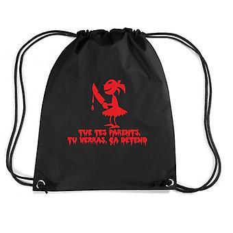 Black backpack fun2285 killer girl