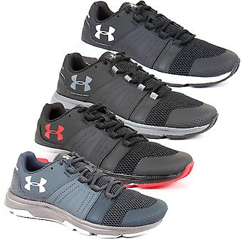 Under Armour Mens UA Raid TR Running Excercise Gym Leather Trainers Shoes