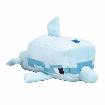 Minecraft, täytetyt eläimet/pehmo lelu-Dolphin (20 cm)