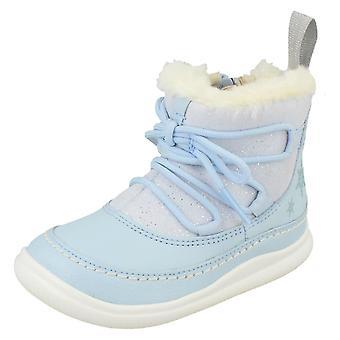 Filles Clarks DIsney Frozen Ankle Boots Cloud Trône