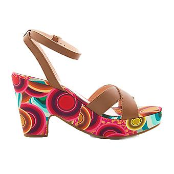 Desigual naiset ' s Sandalia Bloque sandaalit
