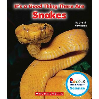 Its a Good Thing There Are Snakes by Lisa M Herrington