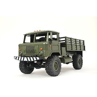 Heng Long RC Sovjet-Unie militaire vrachtwagen 1:16, 4WD, rubber banden, schokdempers