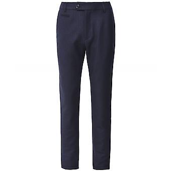 Les Deux Wool Blend Pinstripe Como Trousers