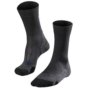 Falke trekking 2 seje sokker-Asphaly mel grå