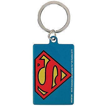 DC Comics Superman Metal Keyring