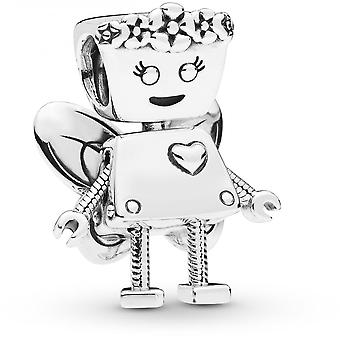 Charm Pandora 797856 - Charm Bella Bot Florale en Argent