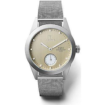 Triwa Birch Aska AKST104MS watch - watch steel gray woman