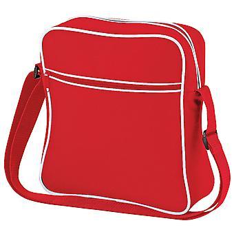 Bagbase Retro Flight / Travel Bag (7 Litres) (Pack of 2)