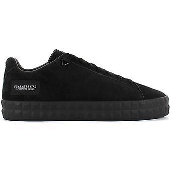 Puma Court Platform OUTLAW MOSCOW 367097-01 Herren Schuhe Schwarz Sneaker Sportschuhe