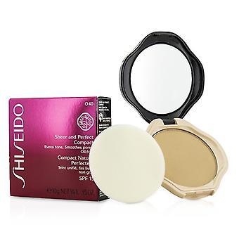 Shiseido ren & perfekt kompakt Foundation SPF15 - #O40 naturlige rettferdig oker 10g/0,35 oz