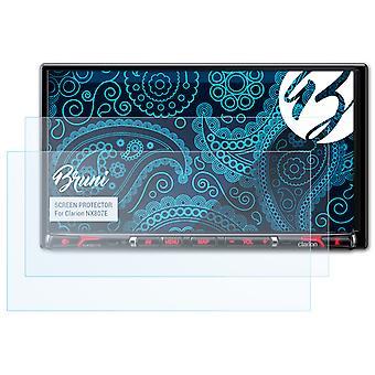 Bruni 2x Screen Protector kompatibel med Clarion NX807E Beskyttelsesfilm
