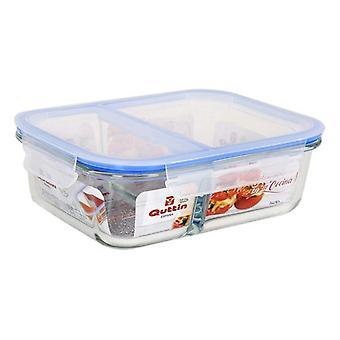 Lunch box Quttin Glass Compartments (1400 Cc)
