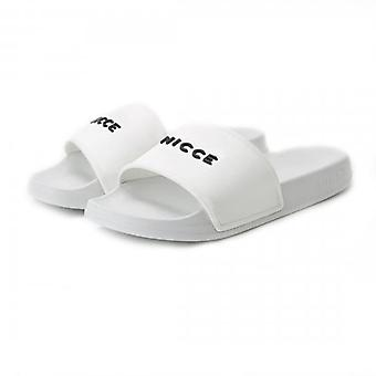 NICCE Nicce Classico Slides White Sandals