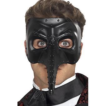 Benátská Gothic Capitano maska