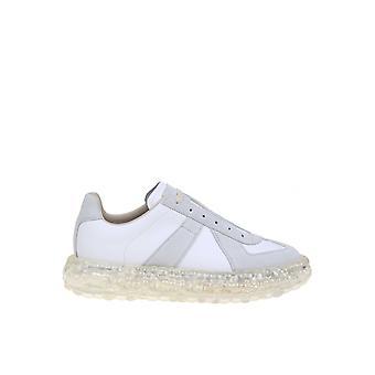 Maison Margiela S37ws0503p1895101 Men's White Leather Sneakers