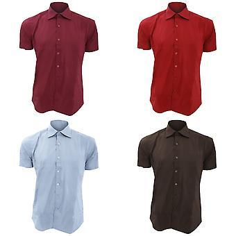 SOLS Mens Broadway chemise travail ajusté à manches courtes