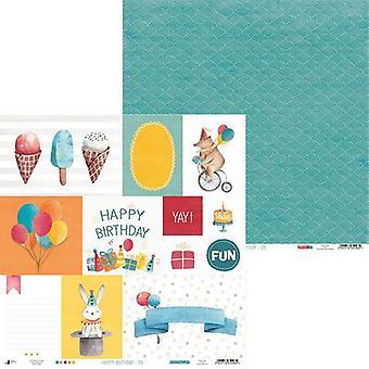 Piatek13 - Paper Happy Birthday 06 P13-413 12x12
