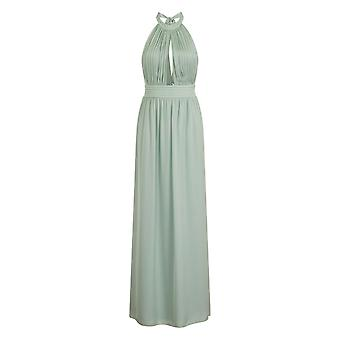 Little Mistress Womens/dames Mint Keyhole Maxi Dress