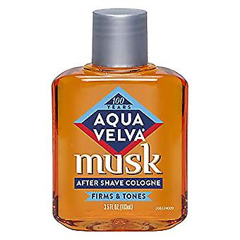 Aqua velva musk after shave cologne, 3.5 oz