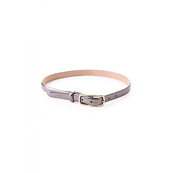 Paul Smith Womens Metallic Slim Belt