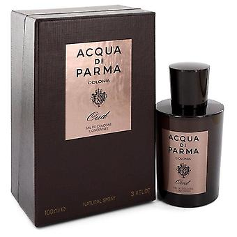 Acqua Di Parma العود كولونيا كولونيا رذاذ التركيز قبل Acqua Di Parma 3.4 أوقية كولونيا تركيز الرش