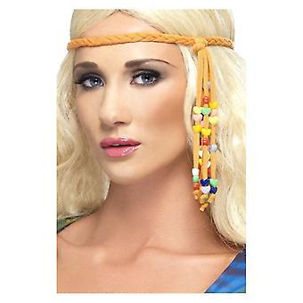 1960s Hippie Beaded Headband
