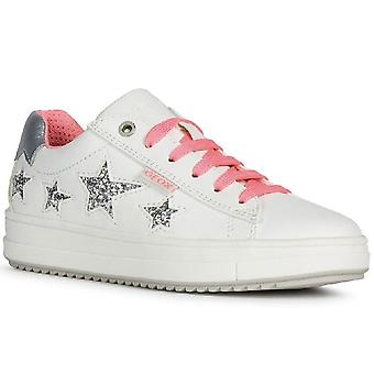 Geox Rebecca Girls Lace Up Trainers