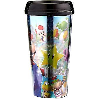 Super Rare  Super Mario Travel Mug