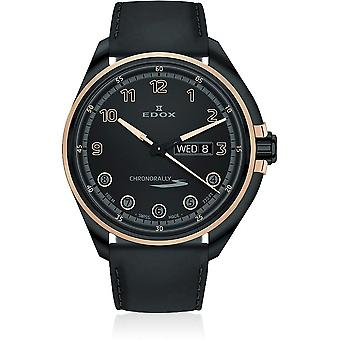 Edox - Armbanduhr - Unisex  - Chronorally-S - Day Date - 84301 37NRCN NNR