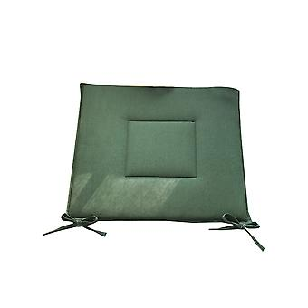 Green Cotton and linen square mat