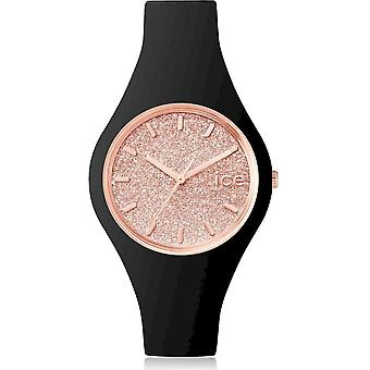 Ice Watch Watch Unisex ICE glitter Svart Rose-Gold Small 001346