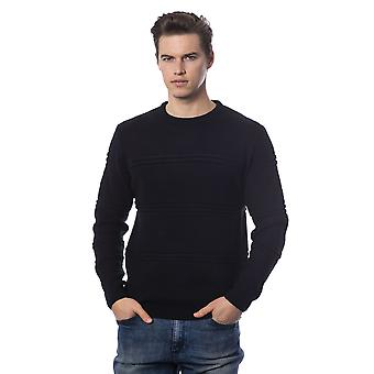 Rich John Richmond Black Sweater -- RI81013040
