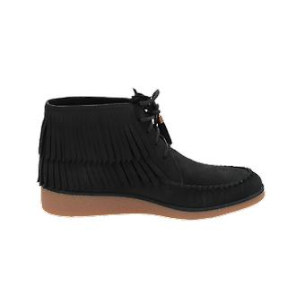 UGG W CALEB Women's Boots Black Lace-Up Boots Winter