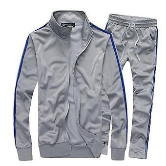 Allthemen Men's Sports Suit Zipper Casual Sports Suit Jacket Pants